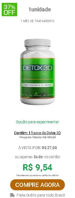 detox 3d mercado livre