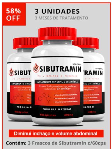 sibutramin remédio